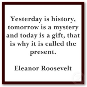 3 days Eleanor Roosevelt
